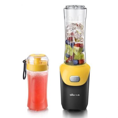 [新品]小熊(Bear)便携多功能双杯榨汁机 LLJ-D06D2