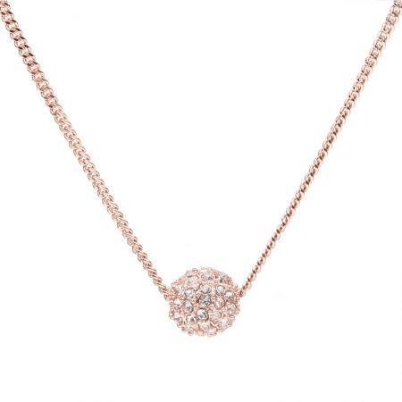 Givenchy/纪梵希 球形碎钻项链·玫瑰金