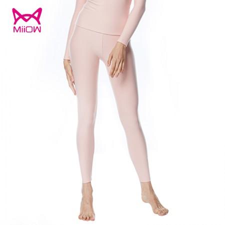 猫人 女士保暖内衣全棉美体秋裤单裤·肤色