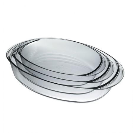 Duralex多莱斯 法国原装进口 圆形烤盘3件套 9058A