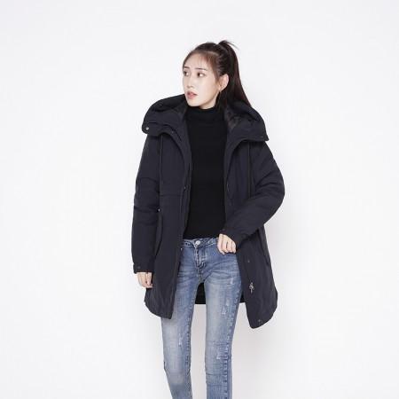 迪欧达女士防寒加拿大鹅绒大衣  DX8113·藏青