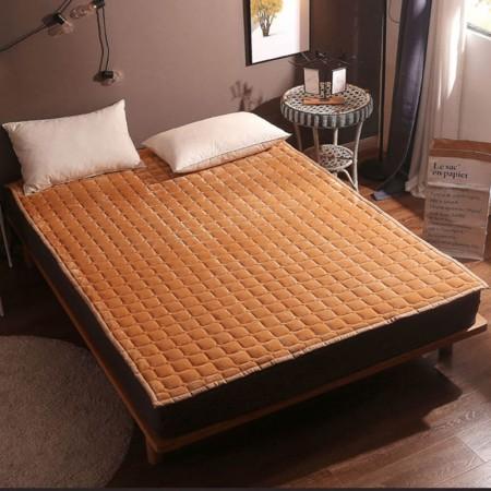 一梦 水晶绒床垫( 180*200cm)·驼色