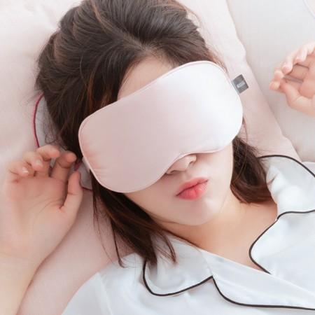 畅志U品热敷真丝睡眠蒸汽眼罩·粉色
